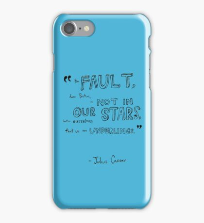 Julius Caesar iPhone Case/Skin