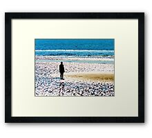 Gormley Another Place Framed Print
