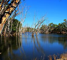 Murrumbidgee river Hay by outbacksnaps