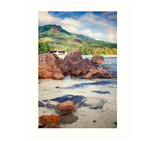 Seychelles. memories from paradise. Indian Ocean. Art Print