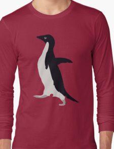 Socially Awkward Penguin Long Sleeve T-Shirt