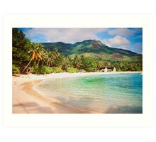 Seychelles. Meridien Barbarons. Art Print