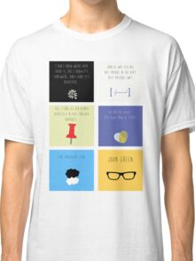 Last Words - John Green edition Classic T-Shirt