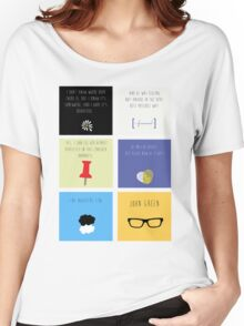 Last Words - John Green edition Women's Relaxed Fit T-Shirt