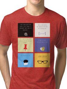 Last Words - John Green edition Tri-blend T-Shirt