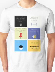 Last Words - John Green edition Unisex T-Shirt