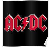 AC/DC Logo Poster