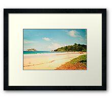 Seychelles III. Framed Print