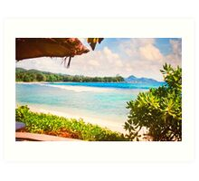Seychelles. Meridien Barbarons. Indian Ocean. Art Print