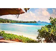 Seychelles. Meridien Barbarons. Indian Ocean. Photographic Print