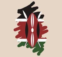 Kenya Flag by litu