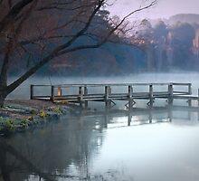 Daylesford Lake  by pbclarke