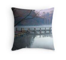 Daylesford Lake  Throw Pillow