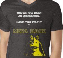 Jar Jars back Mens V-Neck T-Shirt