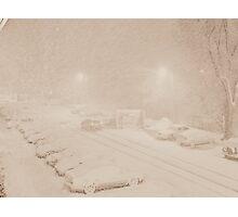 Blizzard 2013 Photographic Print