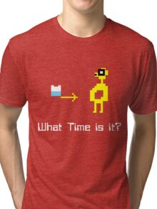 """It's TIME for """"ADVENTURE!"""" Tri-blend T-Shirt"""