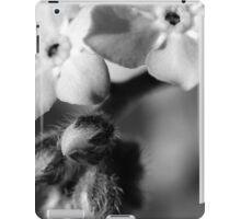 Forget-Me-Nots 6 B&W iPad Case/Skin