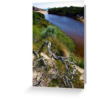 Twisted Branch, Whiskey Bay Greeting Card