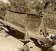 """ Water Wagon ""  Circa 1908 - 1930 by Gail Jones"