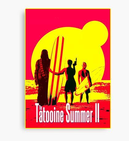 Tatooine Summer II Canvas Print