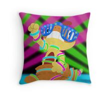 Rave Scraggy Throw Pillow