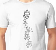 The Symbols of Kingdom Hearts Unisex T-Shirt
