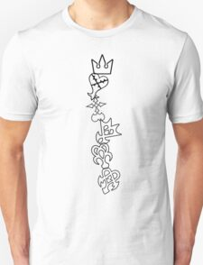 The Symbols of Kingdom Hearts T-Shirt