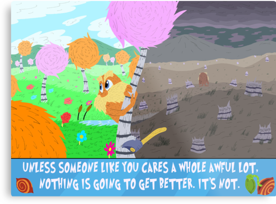 The Lorax by Macaluso