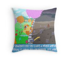 The Lorax Throw Pillow