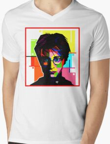 Harry potter Mens V-Neck T-Shirt