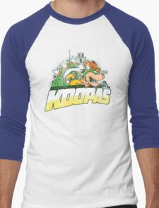KOOPAS Men's Baseball ¾ T-Shirt