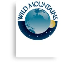 Wild Mountains Stickers/Greeting Cards etc Canvas Print