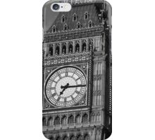 Big Ben 3 B&W iPhone Case/Skin