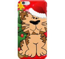 Meowy Christmas  iPhone Case/Skin