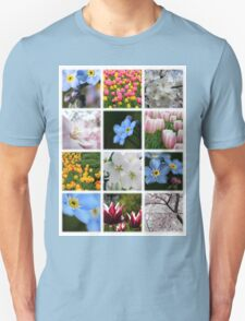 Spring Flowers Montage 1 T-Shirt