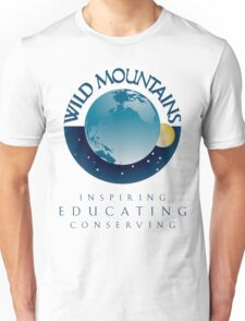 Wild Mountains - Inspiring, Educating, Conserving Unisex T-Shirt