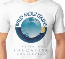 Wild Mountains - Inspiring, Educating, Conserving Unisex T-Shirt