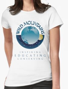 Wild Mountains - Inspiring, Educating, Conserving Womens Fitted T-Shirt