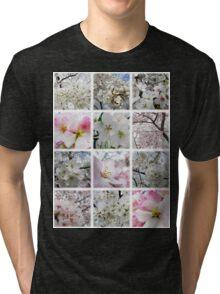 Cherry Blossoms Montage 1 Tri-blend T-Shirt