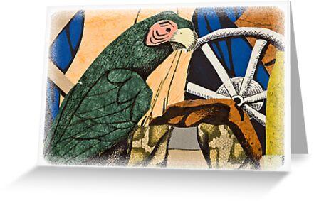Parrot Still Life by jkartlife