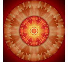Aztec Cloud Mandala Photographic Print