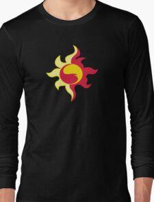 My little Pony - Sunset Shimmer Cutie Mark V3 Long Sleeve T-Shirt