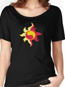 My little Pony - Sunset Shimmer Cutie Mark V3 Women's Relaxed Fit T-Shirt