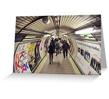 Tube Greeting Card