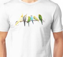 Small parrots Unisex T-Shirt