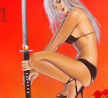 Oriental blood by JavierMontero
