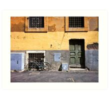 Travelling Memories: Old Trastevere Art Print