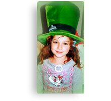 My little Irish Leprechaun Canvas Print