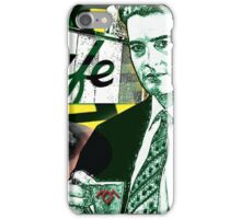 """Twin Peaks Agent Cooper """"A Damn FIne Cup of Coffee"""" iPhone Case/Skin"""