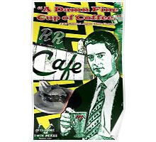 "Twin Peaks Agent Cooper ""A Damn FIne Cup of Coffee"" Poster"